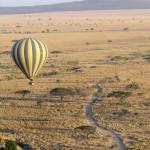 Survol en montgolfière du Serengeti
