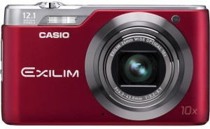 Appareil photo Casio exilim ex h5 compact camera rouge