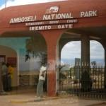 Entrée du parc Amboseli